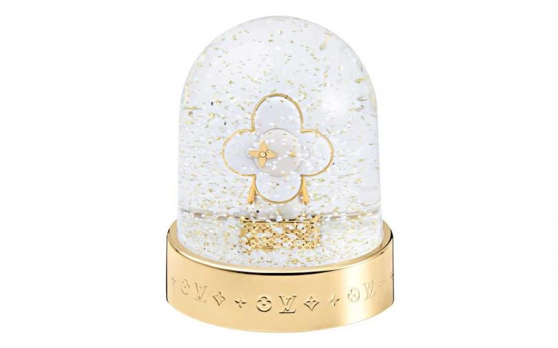 Louis Vuitton Vivienne Snow Globe 雪球/價格未定(圖/品牌提供)