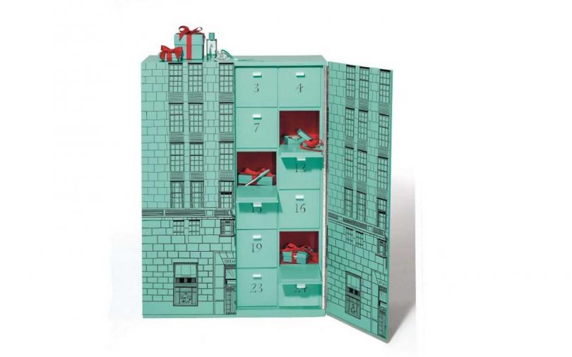 Tiffany & Co. 耶誕倒數日曆/約3430,000元(圖/品牌提供)