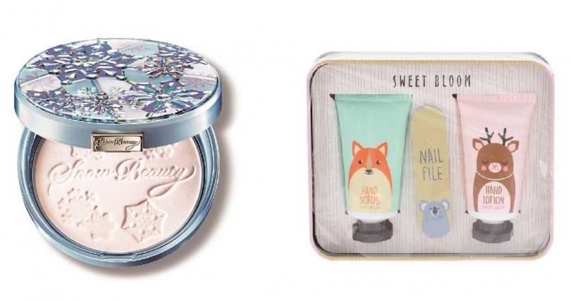 送給水象星座選這些>>SHISEIDO Snow Beauty心機女神香氛魔法盒、Watsons保養禮盒組。(圖/品牌提供)