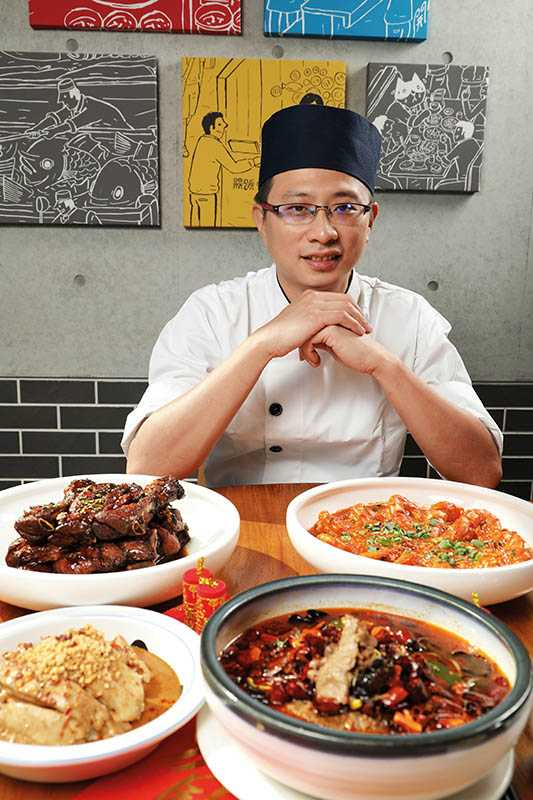 承襲老牌「福利川菜」廚藝,開飯主廚林耀文傾力呈現「正川味」。(圖/于魯光)