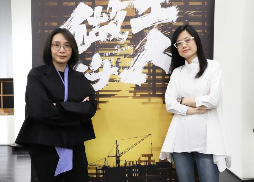 《做工的人》製作人林昱伶(左)與導演暨編劇鄭芬芬(右)。(圖/大慕影藝提供)