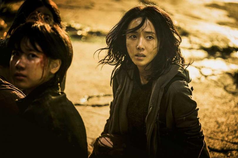 李貞賢在片中化身為女戰士。(圖/車庫提供)