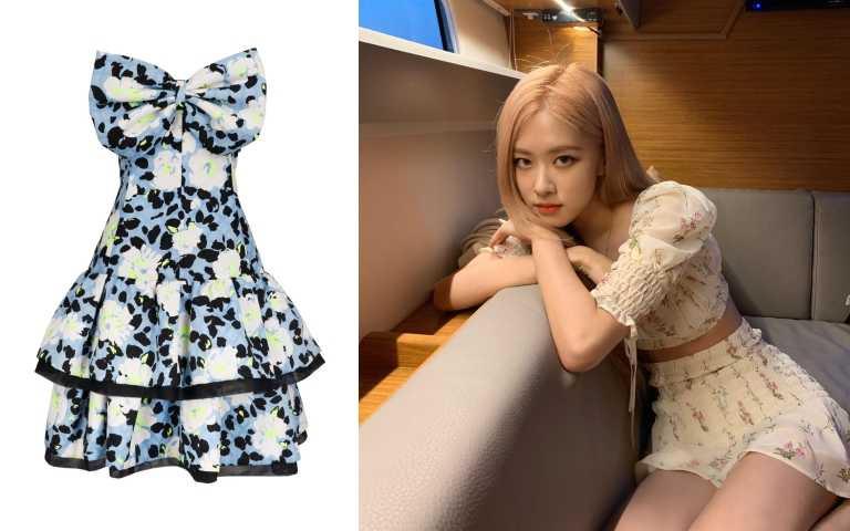 編輯推薦:今年韓國女生超喜歡這樣的花洋裝,性感又帶點純真。glimmer boutique花洋裝/價格店洽(圖/品牌提供、翻攝自IG)