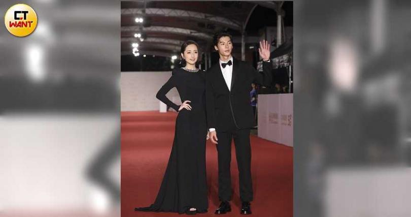 柯佳嬿與許光漢主演的《想見你》收視口碑皆佳。(圖/攝影組)