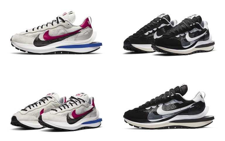Nike x sacai VaporWaffle將於11月上旬發售。(圖/NIKE)