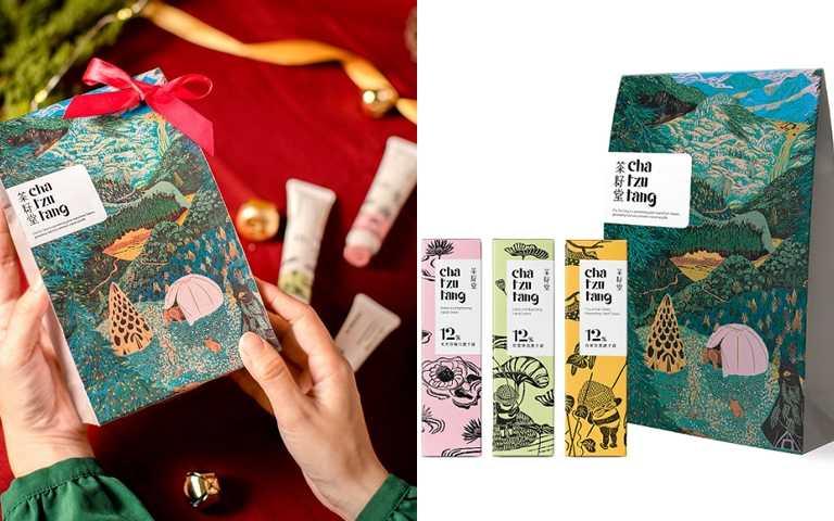 茶籽堂護手霜三入組/1,200元  可以不受限制,自行搭配挑選3種喜歡的味道。(圖/品牌提供)