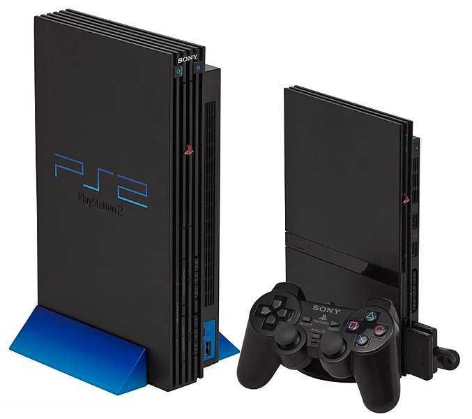 左:PS2 右:PS2 Slimline