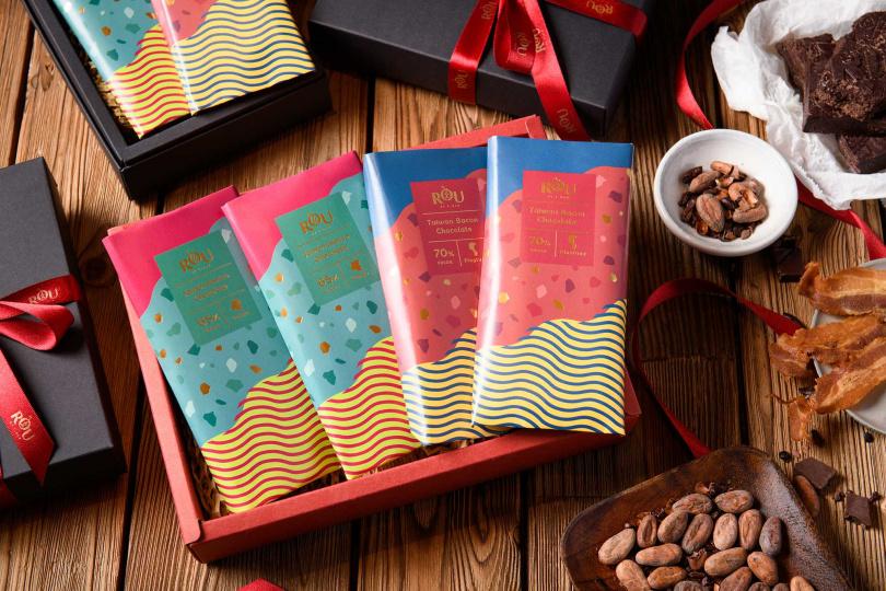 「四入巧克力禮盒」(65%、70%各2片)。(1480元)