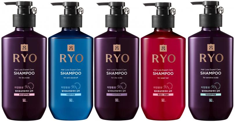 滋養韌髮洗髮精有針對5大頭皮類型,分別為油性、中乾性、敏感性、髮根扁塌無力與頭皮屑困擾,各自提供專屬護理配方。(圖/品牌提供)