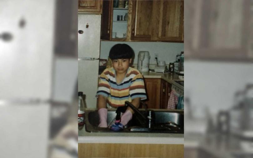 唐嘉壕八歲時模樣可愛。(圖/定閔媒體科技公司提供)