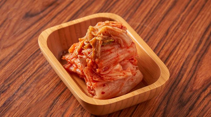 泡菜富含益生菌。(圖/上吉燒肉提供)