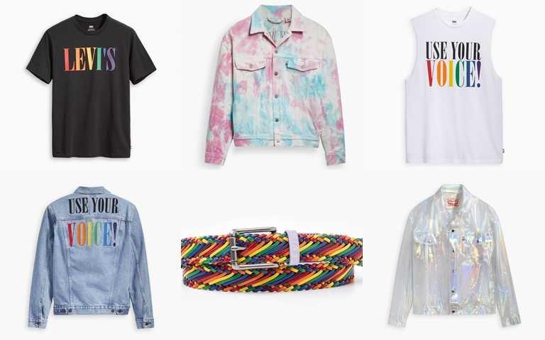 LEVI'S平權系列全單品現已販售,另外還有客製潮T服務,訂做專屬自己的時尚!(圖/LEVI'S)
