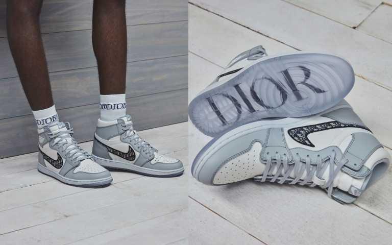Air Jordan問世35周年,這次將這雙經典球鞋的永恆魅力搭配了Dior的標誌性老花風格,成為最新Dior老花鞋,讓人一看就想收藏。Air Jordan 1 High OG Dior球鞋/80,000元(圖/品牌提供)