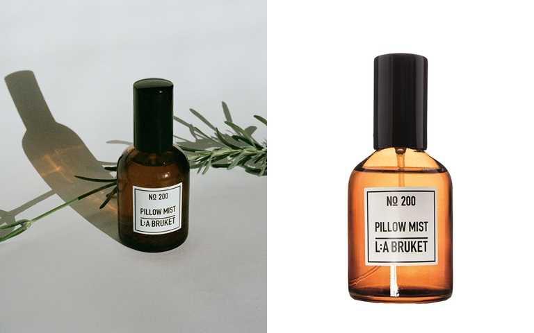 L:a Bruket枕頭噴霧 50ml/1,650元  結合柑橘、薰衣草香氣及予人沉靜感受的雪松等天然精油,打造出協助放鬆壓力、舒緩緊張情緒的獨特香氣。(圖/品牌提供)