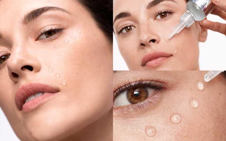 可以全臉使用也可以針對愈加強的部位重點塗抹,像是眼下、眼尾、嘴角、法令紋都是最容易出現紋路的地方。(圖/品牌提供)