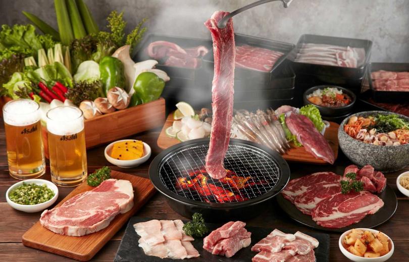 「肉次方」肉類選擇眾多,光是牛肉就有27種吃法。