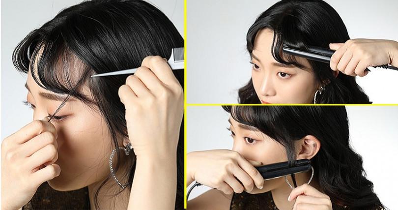 對自己下顎線條不滿意的女孩,瘦身來不及就靠髮絲拯救你。(圖/skuukzky IG)