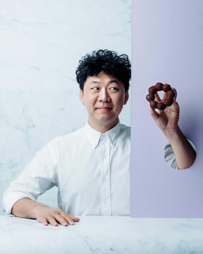 福灣巧克力創辦人許華仁。(圖/Mister Donut提供)