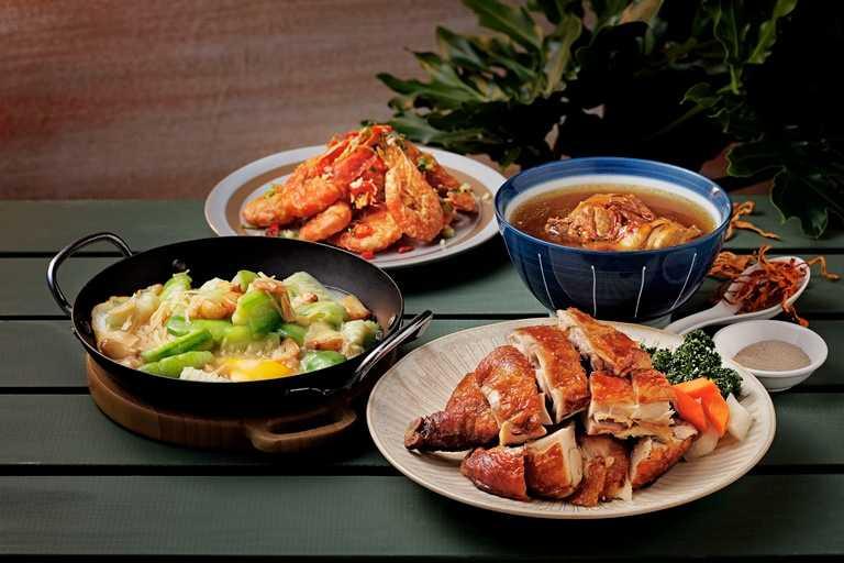 在「欣葉 · 生活 · 廚房」可以品嘗多道欣葉人氣菜色。