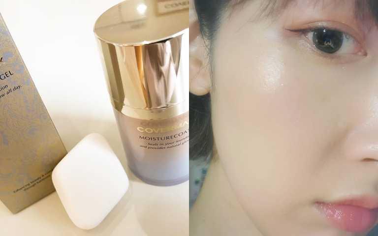 不管妳是用液狀、霜狀或是粉狀的粉底型產品,都能在底妝的最後一個步驟拍出保濕的水漾光妝感,定妝、鎖水一次到位。(圖/IG@centremile、IG@rinrinwoody25)