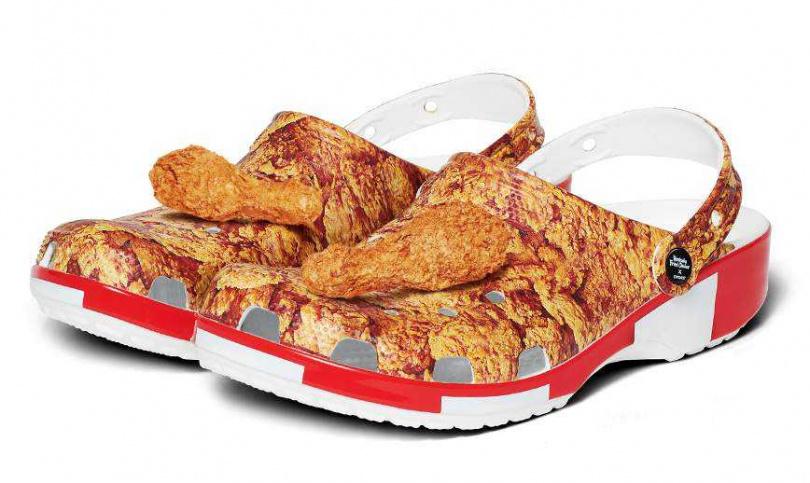 炸雞洞洞鞋。圖片來源:KFC