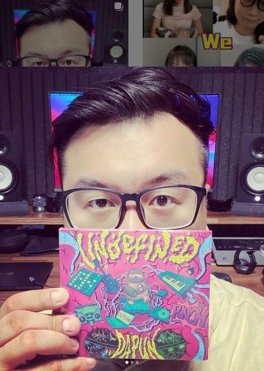 歌壇新人大胖DAPUN發行專輯《未定義》,他笑說自己生性樂觀,會盡量避免負面訊息。(圖/翻攝自大胖DAPUN IG)