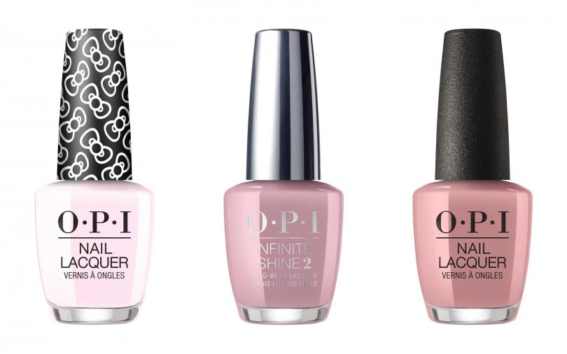 OPI的柔和粉色系指彩雖然是基本款,但卻一直在櫃上擁有極高購買率。(圖/品牌提供)