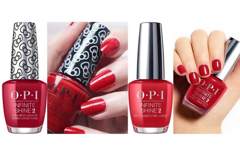 不同深淺感的紅色系指甲油可以對應不同膚色。(圖/品牌提供)