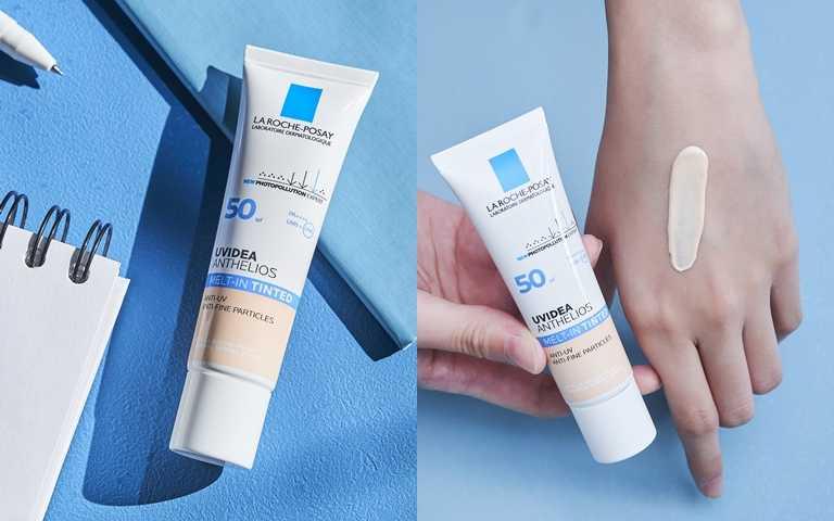 本次受測的「理膚寶水全護清爽防曬液潤色」,經台灣人體實驗證實防曬力優於業界,是真正能夠安全有效抗UV讓肌膚不曬黑不曬老的防曬首選。(圖/品牌提供)