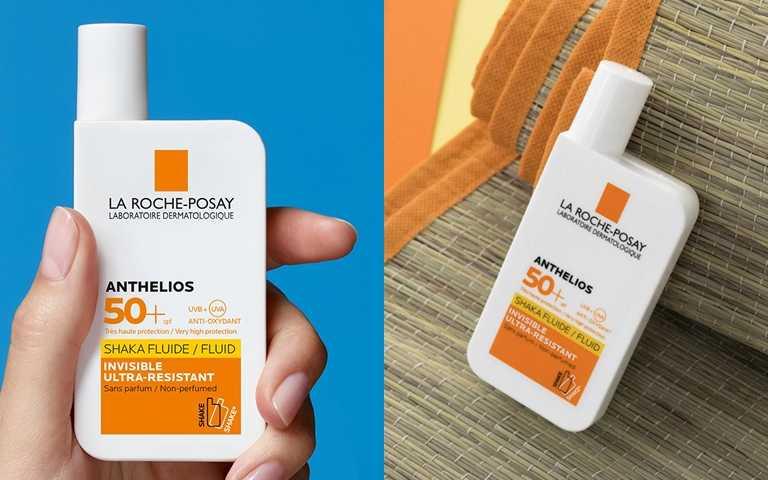 另外一瓶在本次人體實驗防曬臨床表現非常優異的防曬資優生是「理膚寶水安得利清爽極效夏卡防曬液」,創新夏卡質地極度清爽不黏膩,又兼具高度防水、防汗、防沙,非常適合戶外活動時使用。(圖/品牌提供)