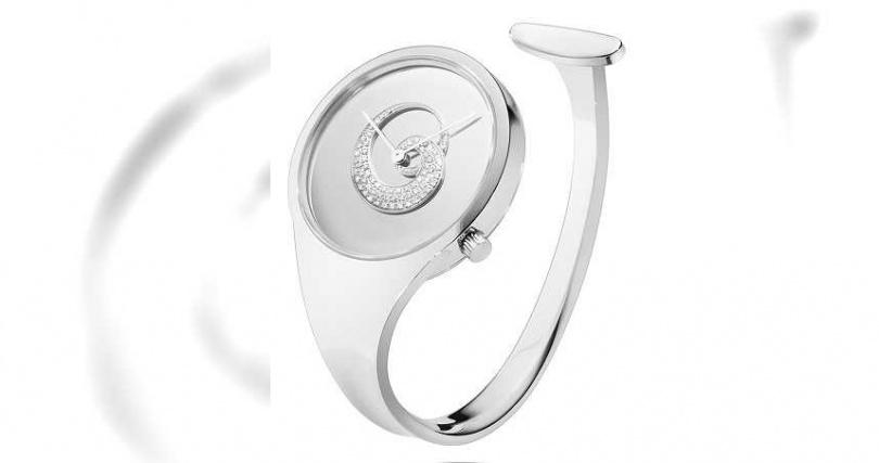 GEORG JENSEN「Vivianna Bangle」朵蘭錶2021限量珍藏款╱115,000元。(圖╱GEORGJENSEN提供)