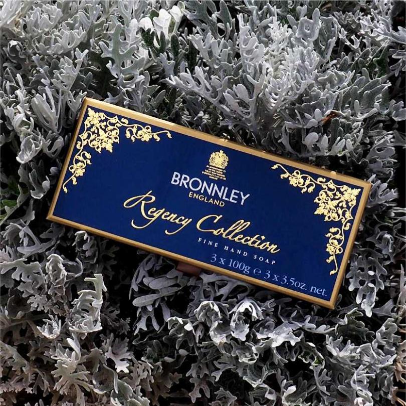 BRONNLEY攝政爵士 3 皂禮盒/1,980元(父親節活動期間,御香坊官網 特價 88 折。)(圖/品牌提供)