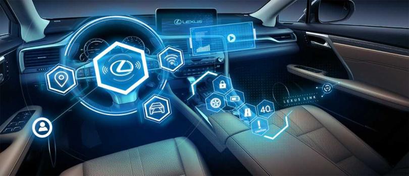 LEXUS LINK智能車載系統整合LEXUS Plus APP及車輛數據,提供給車主最方便的移動服務