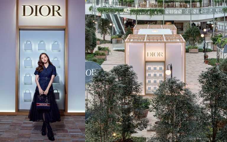 Lady Dior 期間限定店位於現代首爾百貨 5 樓,自即日起營業至 2021 年 10 月 3 日。(圖/品牌提供)