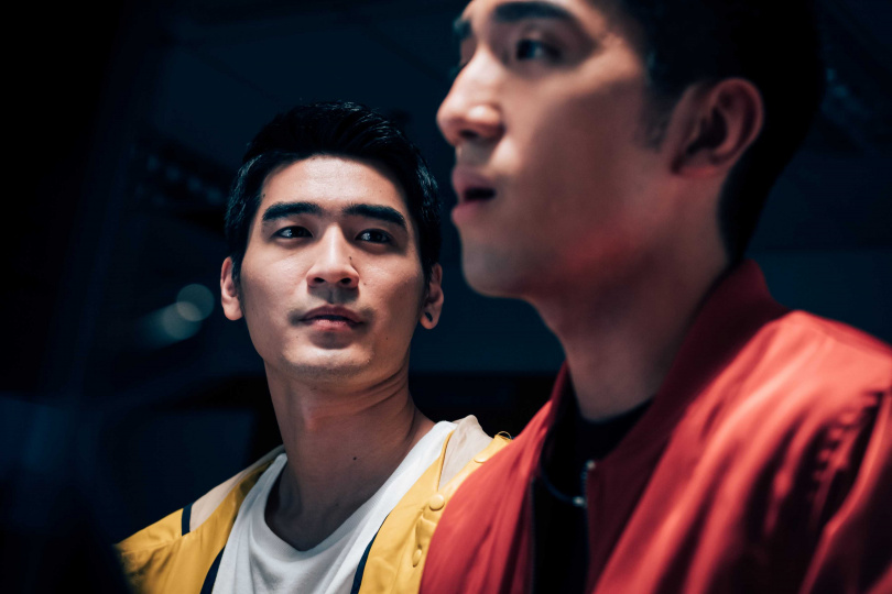 涂善存(左)因為電影結交與原騰的兄弟情。(圖/滿滿額娛樂提供)