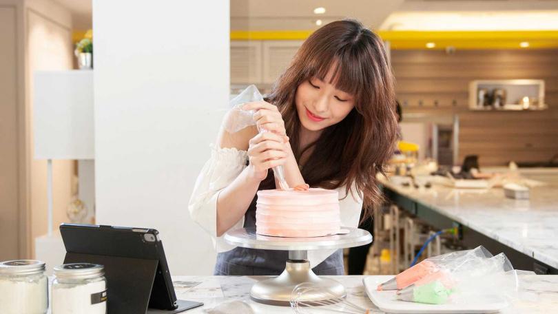 甜點蛋糕DIY手作。(圖/Funsiamo提供)