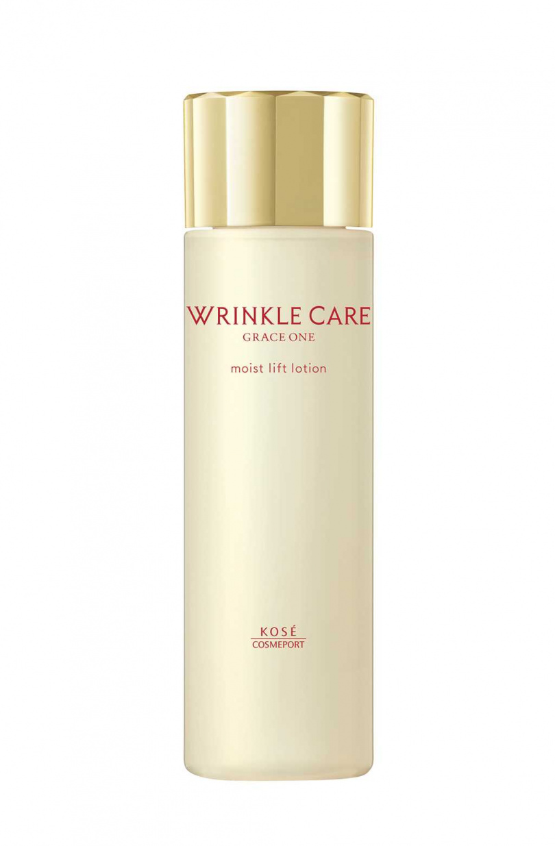WRINKLE CARE MOIST LIFT LOTION 凍齡撫紋抗皺化粧水,售價$850元/180mL。(圖/GRACE ONE極上活妍提供)