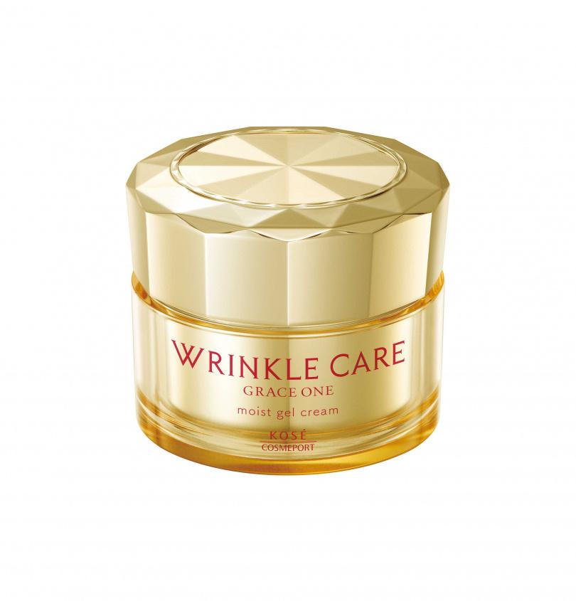WRINKLE CARE MOIST GEL CREAM 凍齡撫紋抗皺凝霜,售價$1150元/100g。(圖/GRACE ONE極上活妍提供)