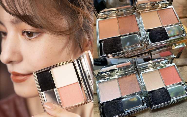 RMK棕采調色頰盒3.4g全4款/1,450元雖然都是棕色調,也有適合健康膚色跟白皙膚色的不同色階可以挑選。(圖/吳雅鈴攝影)