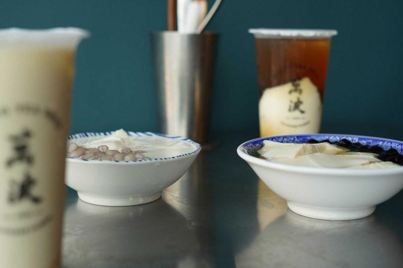 業者提供「波霸」、「小芋圓」和「手工嫩仙草」三款配料。