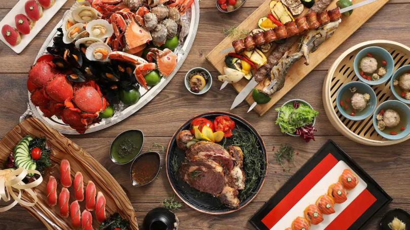 3月主打「女力商機」,每週一、週二 凱菲屋、彩日本料理提前訂位75折。(圖/台北君悅酒店)
