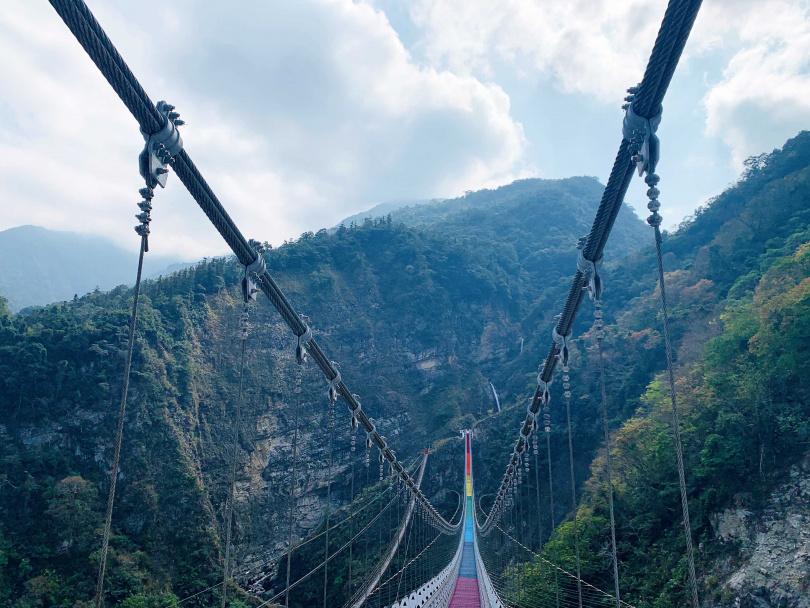 南投信義鄉「雙龍瀑布七彩吊橋園區」今日起至5/23休園一週。