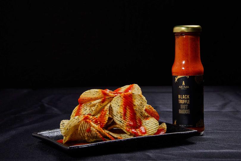 「黑松露辣椒醬」可以入菜也能當做洋芋片沾醬。(595元)(圖/Aroma Truffle提供)