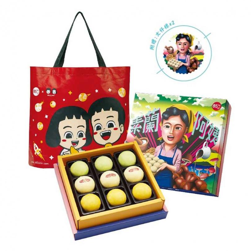 「素蘭阿姨」特別為奶素消費者開發的禮盒。