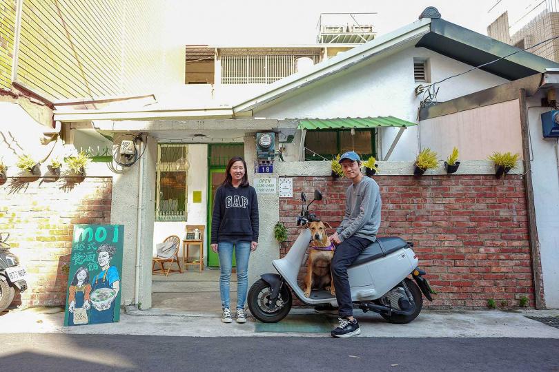 位於老宅內的「moi越式餐酒館」,提供傳統與新型態兼具的越式美食。(圖/焦正德攝)