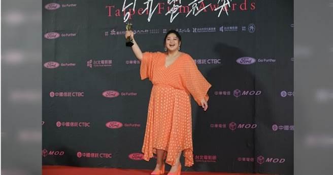 蔡嘉茵第一次演電影《大餓》就獲得台北電影節最佳新人獎。