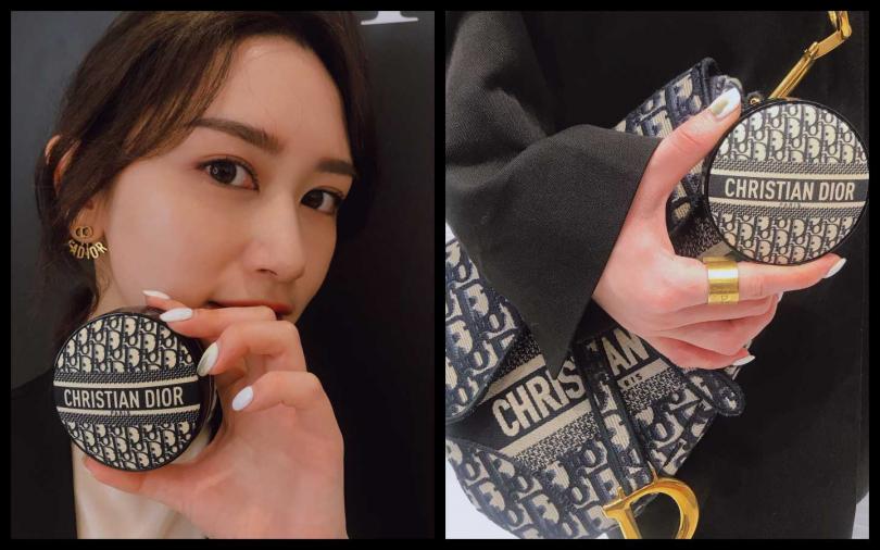 迪奧超完美柔霧光氣墊粉餅 經典緹花版,是市場最輕最薄的精品級氣墊,絕對是時尚迷、彩妝迷2020年必收的珍藏單品!14g/2,500元(圖/黃筱婷攝影)
