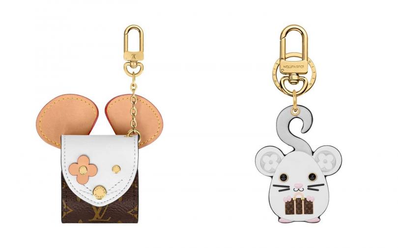 RAT 耳機套/16,300元、RAT 手袋吊飾兼鑰匙扣/16,200元(圖/品牌提供)
