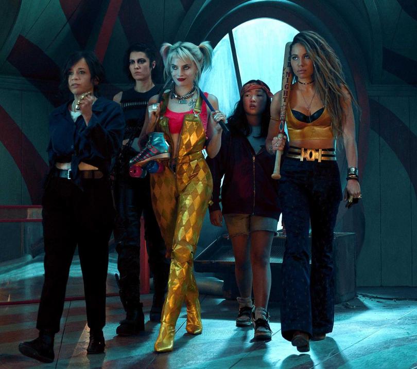 瑪格羅比領軍的女子軍團,在電影裡女力爆發超帥氣。