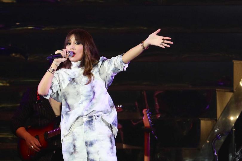 A-Lin巡迴演唱完美落幕。(圖/彭子桓攝)